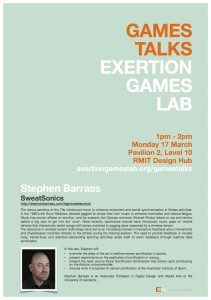 Games Talks - Stephen Barrass